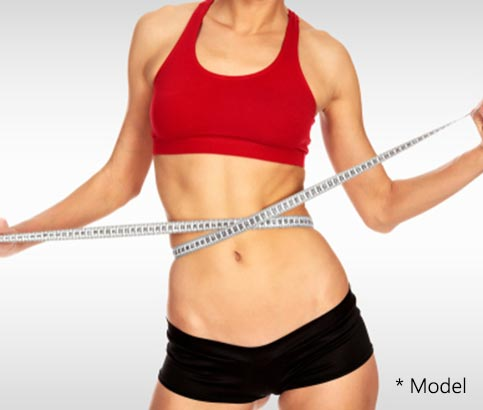 A SculpSure treatment works by changing the temperature of fat cells to the point that they are no longer viable.