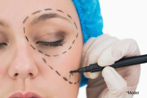 Facelift procedure with natural, well-tolerated techniques
