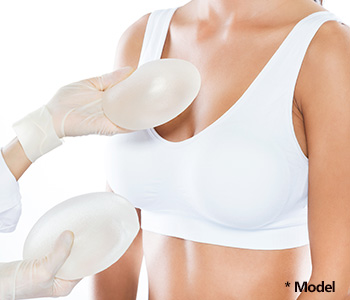 Slimmed breast implant in Los Angeles