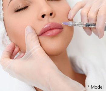 Lip lift different from a lip augmentation