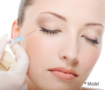 Dr. Dass describes Botox around the eyes used as wrinkle filler