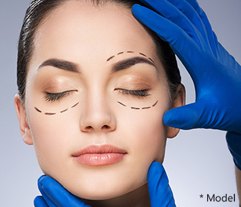 Dr. Dass describes cosmetic eyelid surgery
