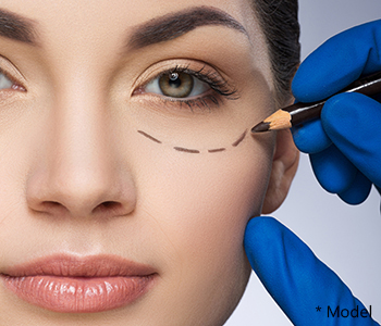 Dr. Dass describes lower eyelid surgery