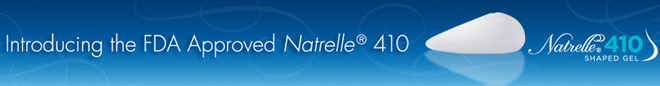 Natrelle 410 breast implants Beverly Hills - Natrelle 410 banner