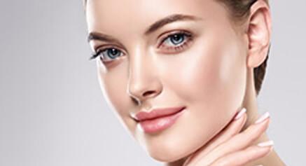 Closeup of a beautiful woman's face 2