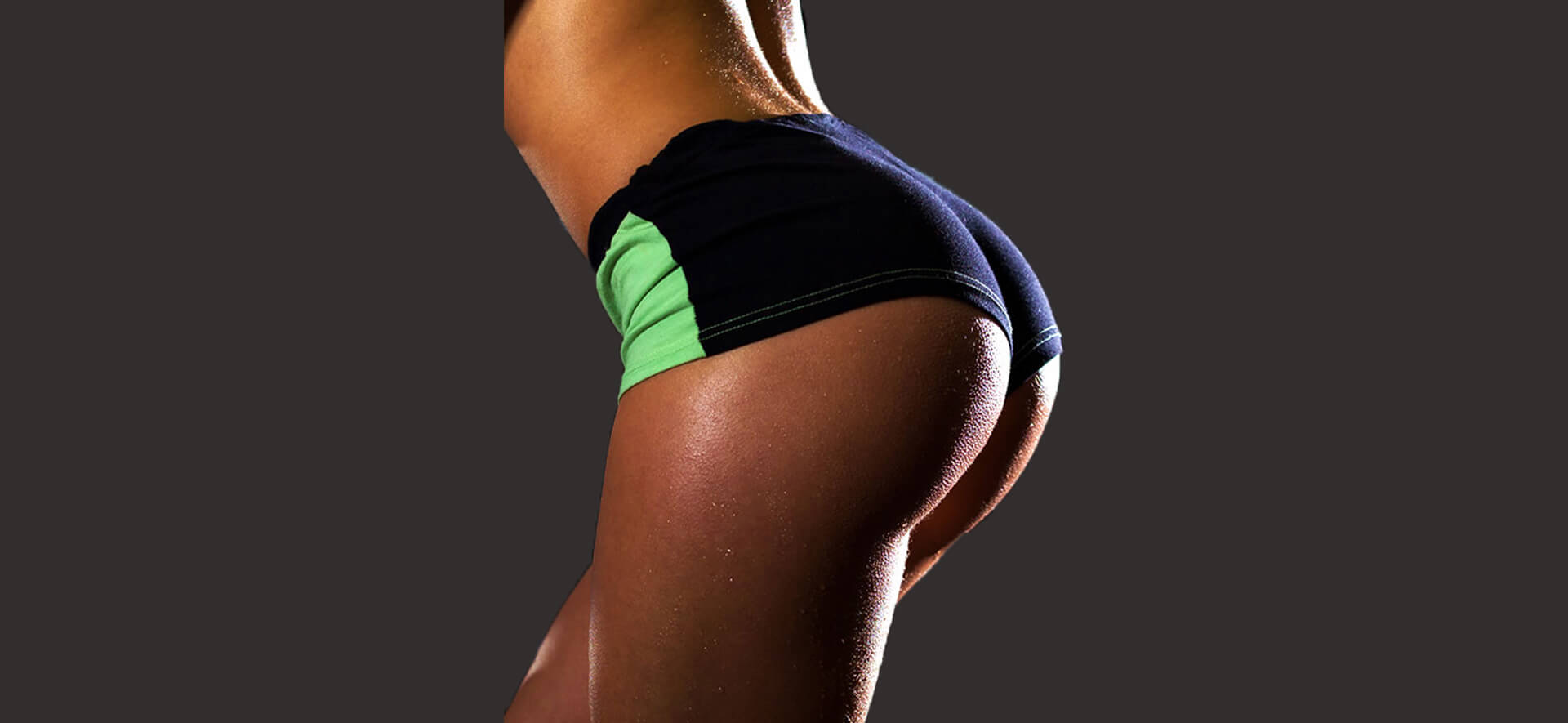 Buttocks of a healthy woman in perfect shape